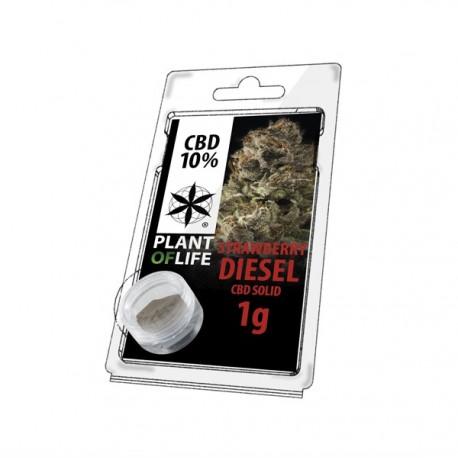 CBD SOLID 10% Strawberry Diesel 1g